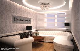3 projekt wnętrza biura