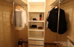 26 projekt wnętrza garderoby