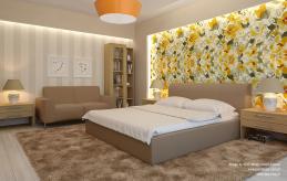 17 projekt wnętrza sypialni