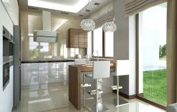 19 projekt wnętrza kuchni
