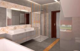 21 projekt wnętrza łazienki