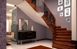 24 projekt wnętrza schodów