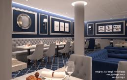 1 projekt wnętrza restauracji hotelowej 1